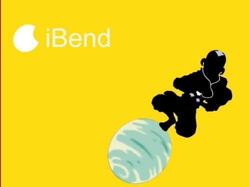 Avatar: The Last Airbender wallpaper entitled iBend - Aang