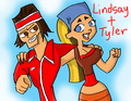 lindsay+tyler - total-drama-island fan art