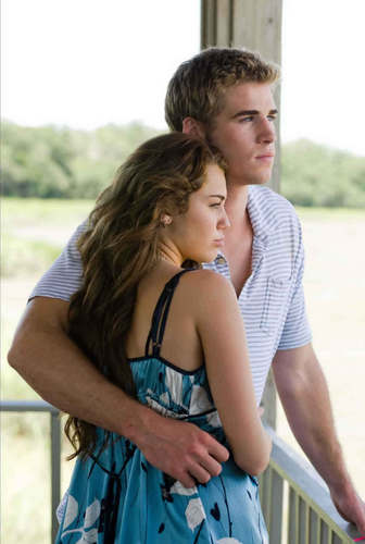 miley & liam..<(...the last song