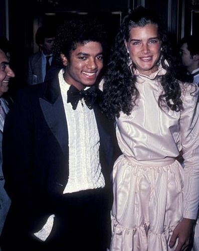 mj + brooke shields