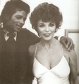 mj + joan collins