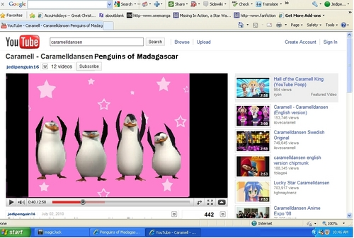 penguin screenshot