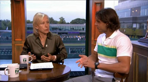 rafa and navratilova