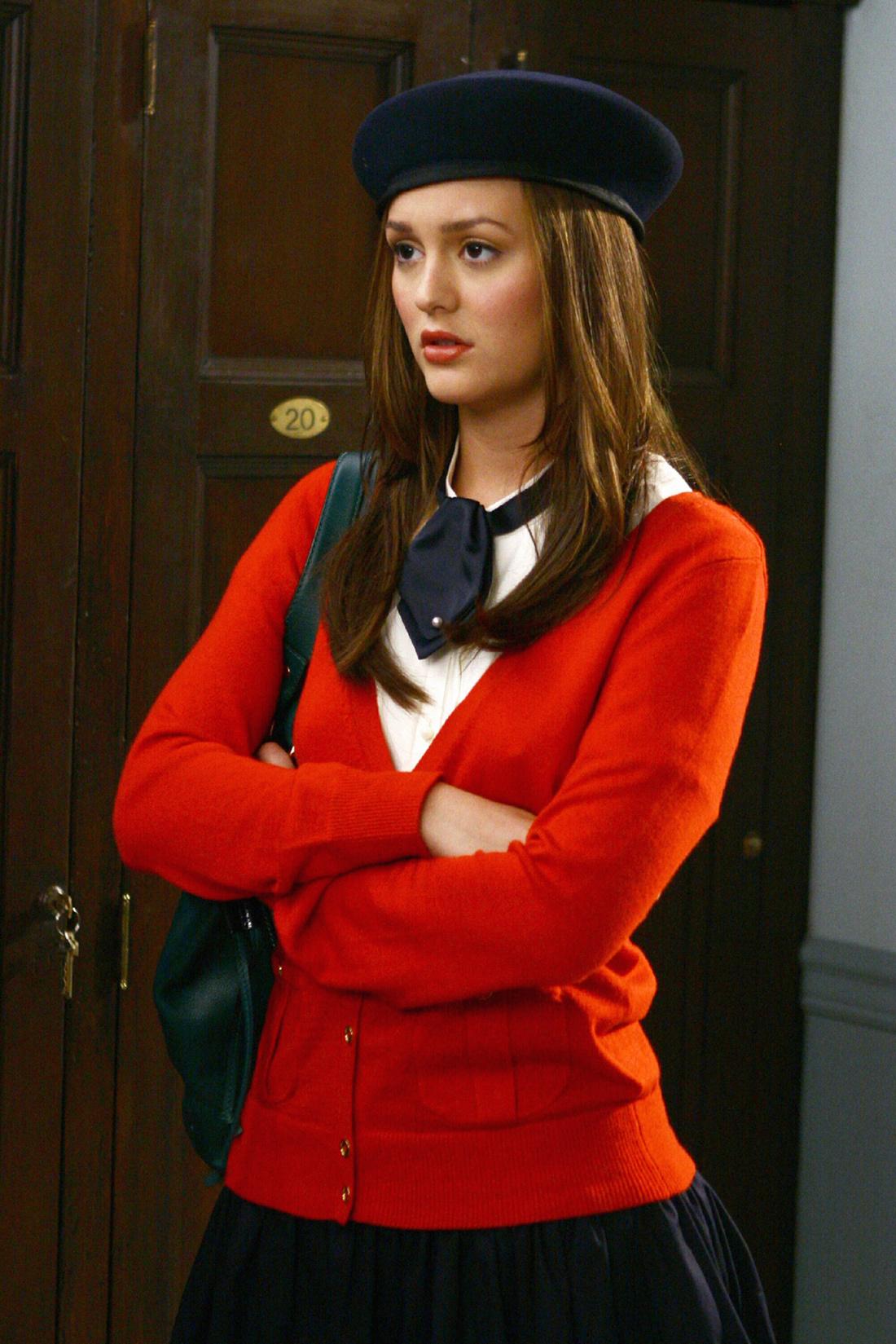Blair waldorf red dress season 5
