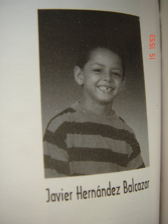 Chicharito When He Was a Baby