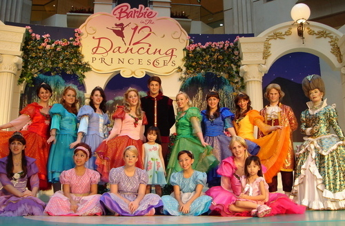 12 Dancing princesses...IRL?