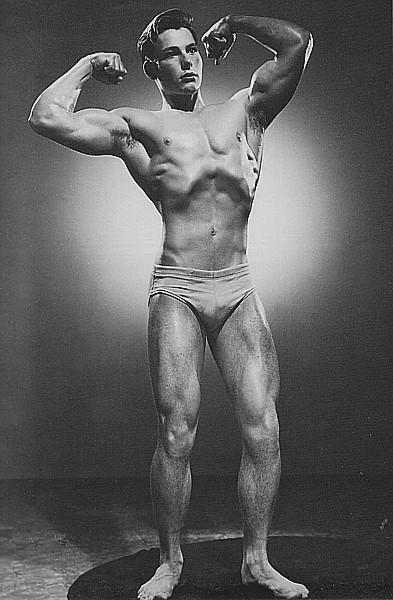 Vintage Male Beefcake Models