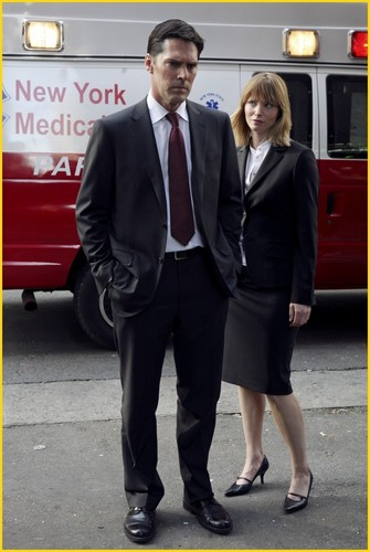 SSA Aaron Hotchner wallpaper titled Hotch & Kate