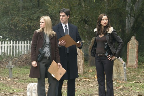 SSA Aaron Hotchner wallpaper called Hotch, JJ & Elle