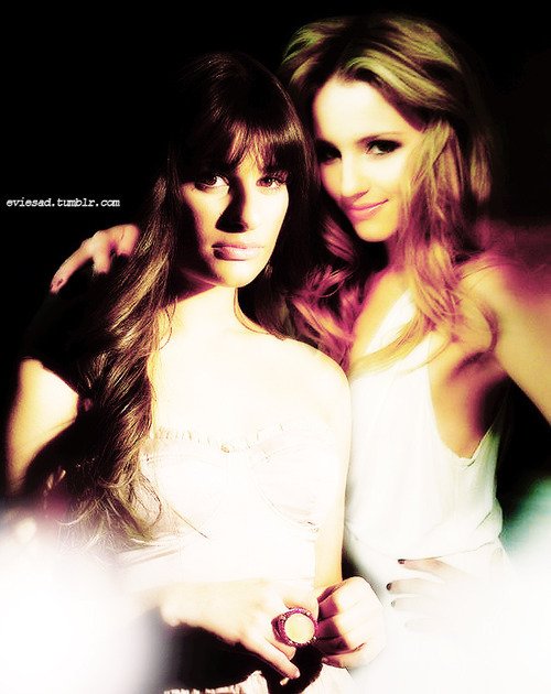 dianna agron and lea michele. Achele - Lea Michele and