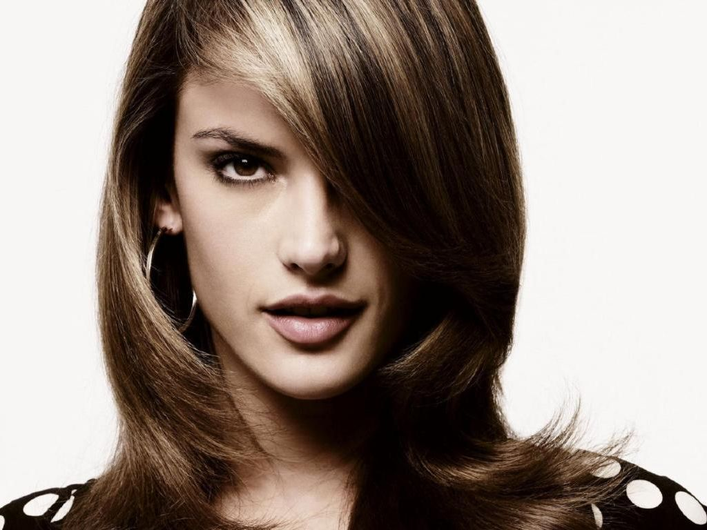 Hair Style Of Ladies : Alessandra Ambrosio - Alessandra Ambrosio Wallpaper (13689476 ...