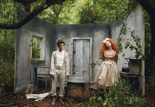 "Andrew Garfield & Lily Cole - ""VOGUE UK"" 2009"