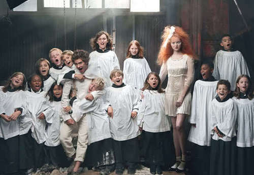 "Andrew 加菲猫 & Lily Cole - ""VOGUE UK"" 2009"