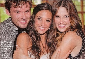 One Tree Hill wallpaper entitled Austin and Sophia at Jana Kramer's Wedding