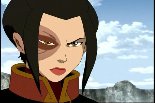 Avatar The Last Airbender karatasi la kupamba ukuta called Azula with Zuko's scar