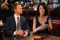 Barney Stinson and Lisa Cuddy