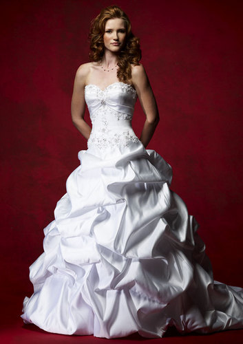 Beautiful Bride and wedding dress!