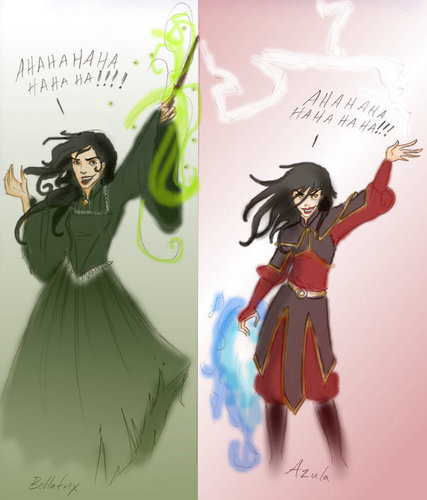 Bellatrix and Azula