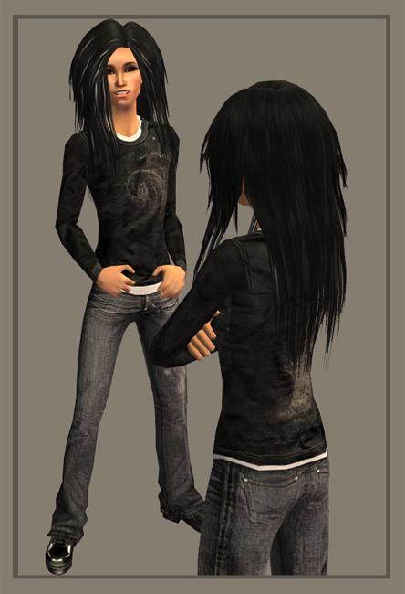 Bill as Sims xD