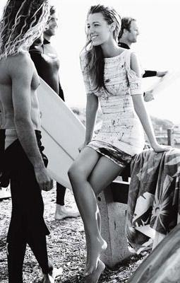 Blake Lively Magazine on Blake Lively Vogue Magazine June 2010   Gossip Girl Off Set Photo