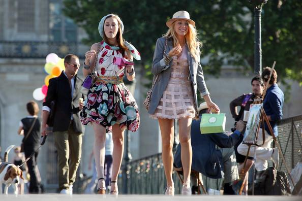 Blake lively gossip girl fashion winter
