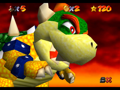 Super mario 64 wallpaper titled Bowser