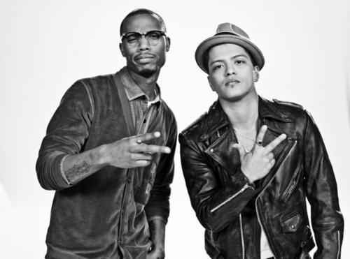 Bruno Mars and B.o.B