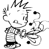 Calvin & Hobbes photo entitled C&H