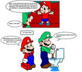 Can't wait to grow up...not - mario-and-luigi photo