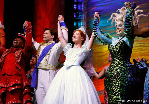 Cast Curtain Call 2 - The Little Mermaid on Broadway Photo ...