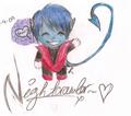 chibi Nightcrawler!