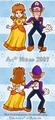 Daisy and Waluigi - princess-daisy photo