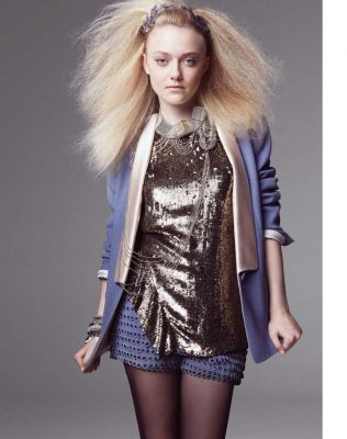Dakota Fanning - Marie Claire photoshoot