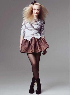 Dakota Fanning - Marie Claire photoshoot