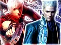 Dante and Vergil - devil-may-cry-3 wallpaper