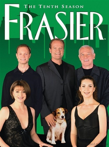 Daphne with the other cast members of Frasier