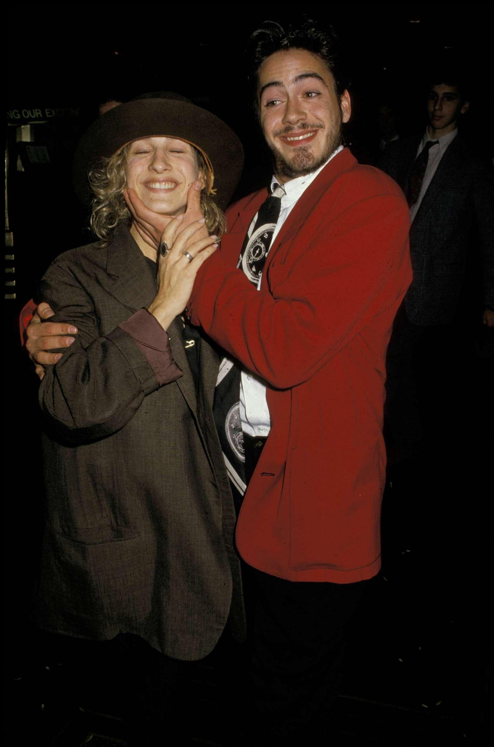 "Departing ""Saturday Night Live"" 24th October 1987"