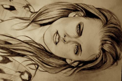Kristen Stewart wallpaper called Drawing of Kristen Stewart