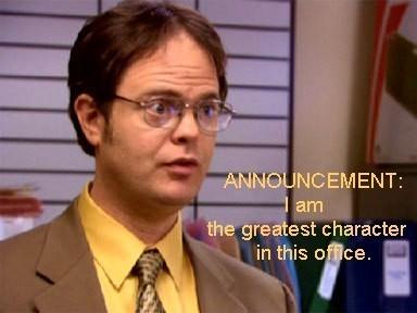Dwight announcement