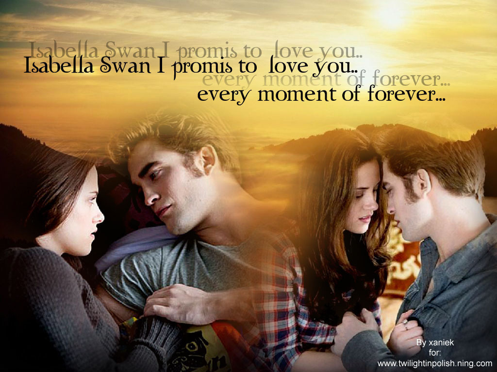 Ed&Bella - twilight-series wallpaper