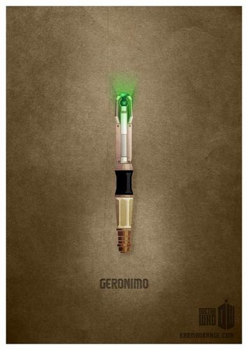 Eleventh Doctor's Sonic Screwdriver - doctor-who Fan Art