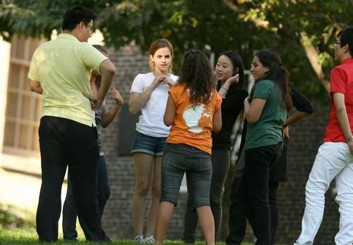 Emma Watson@Brown یونیورسٹی