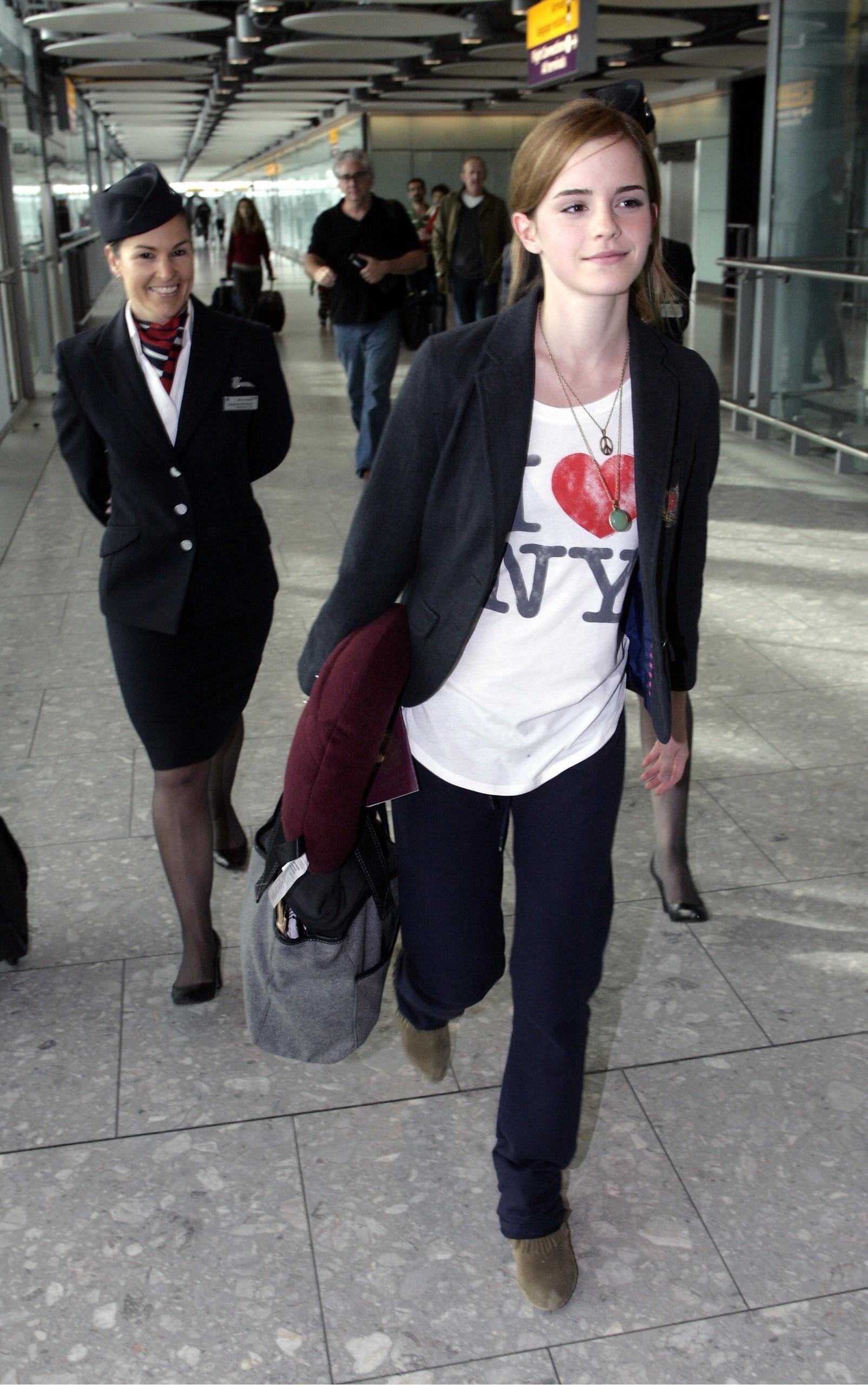 Emma Watson - Heathrow Airport