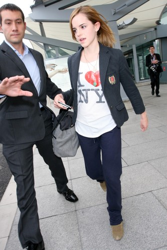 Emma Watson - Heathrow Airport