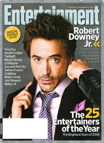 Entertainment Weekly Scans - November 21st 2008