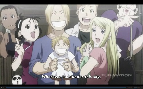 Everyone Grown Up- Ed and Winry's Children
