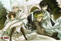 Fea with Teito and Bastian with Frau