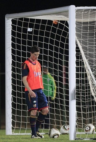 Fernando Torres - Spain Training