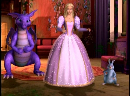Barbie as Rapunzel wolpeyper called Final variant