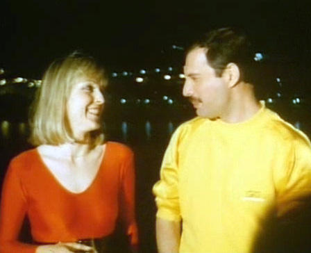 Freddie Mercury wallpaper titled Freddie and Mary Austin